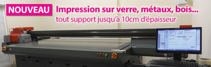Exceptionnel Grafic Technic Image : Impression haute qualité sur verre, bois  YL17